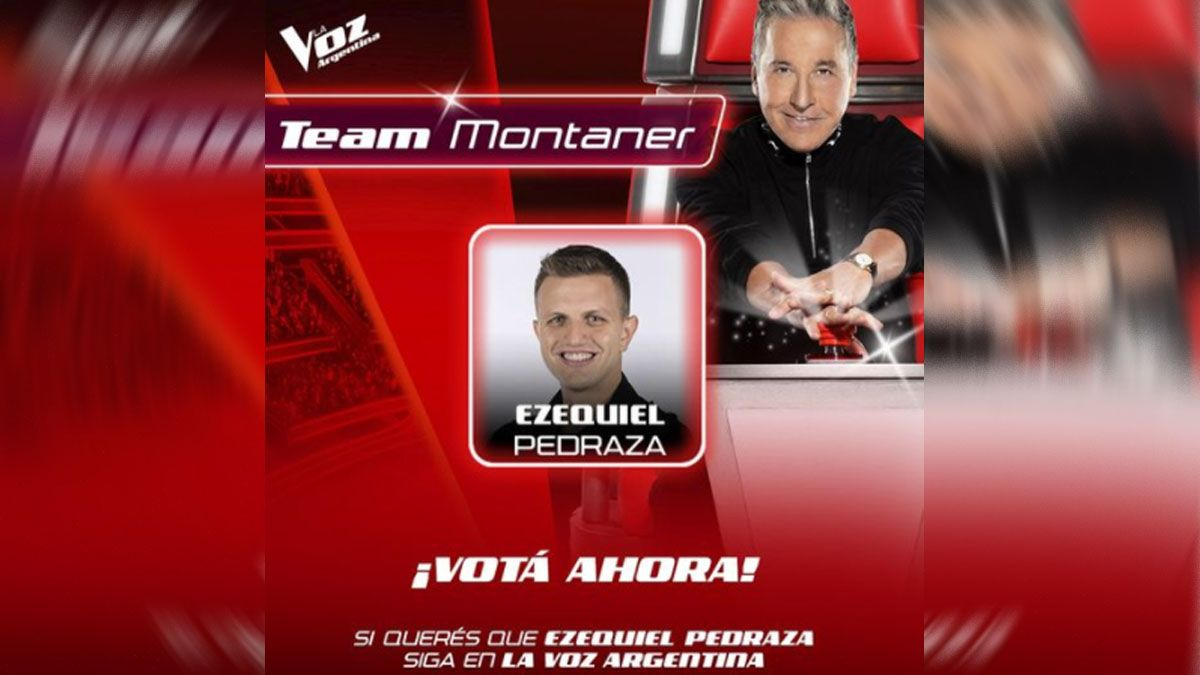 Esta noche Eze Pedraza se juega el pase a la final