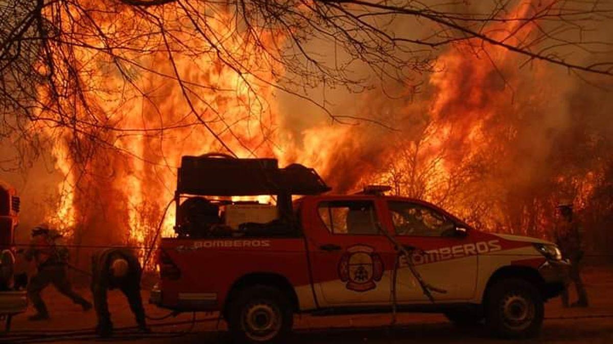 En 14 días, los incendios arrasaron más de 40 mil hectáreas
