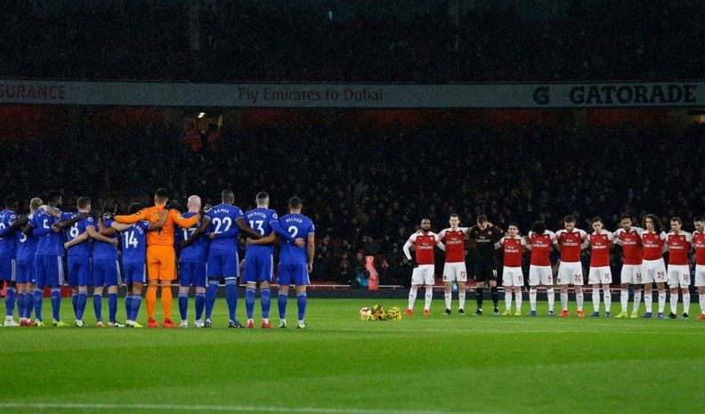 Cardiff y Arsenal rindieron homenaje a Sala