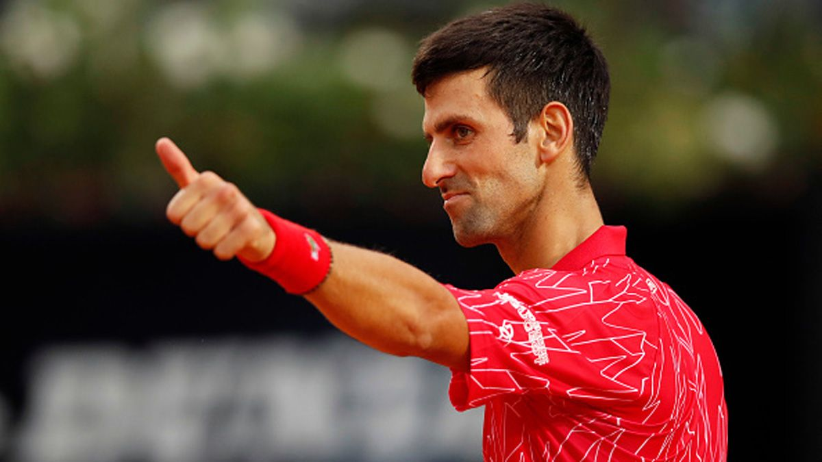 Schwartzman perdió ante Djokovic en la final del Masters 1000 de Roma