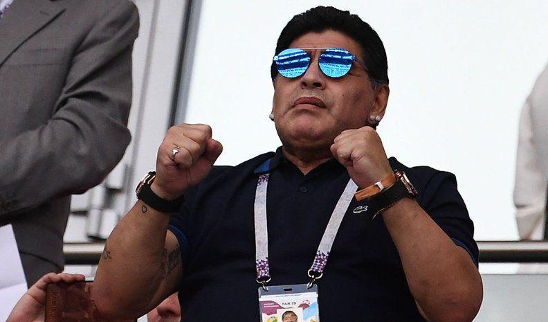 Maradona y su deseo para el 2019