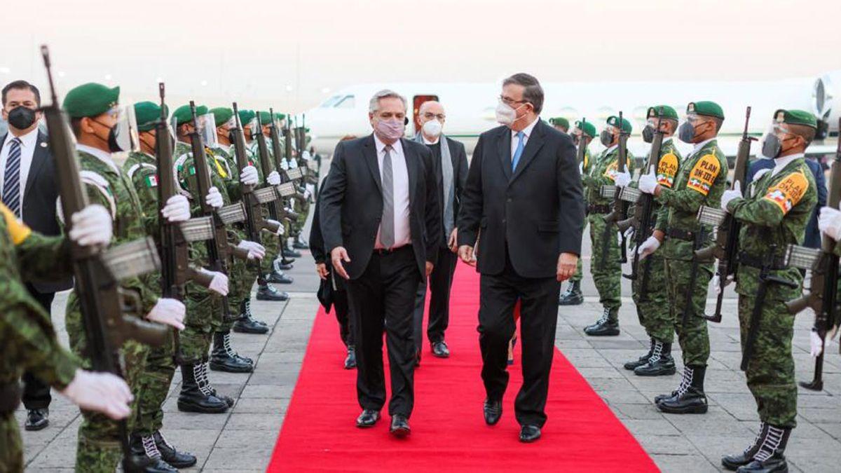 Fernández llegó a México por el Bicentenario de la independencia