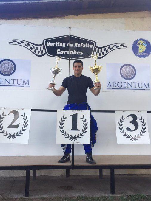 Soñando despierto: el joven piloto Álvaro Pedrón debutó en una nueva categoría