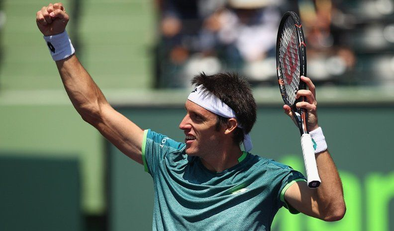 Mayer logró la primera victoria argentina en Conde de Godó