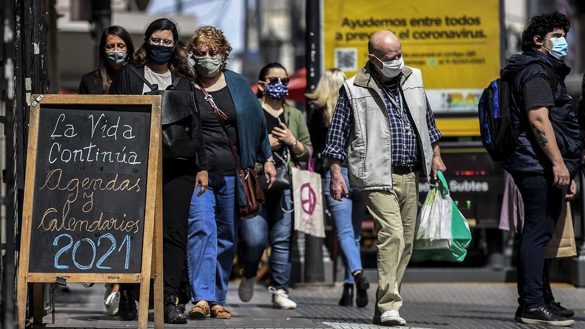 Covid-19 en Argentina: reportaron 10.561 nuevos casos.