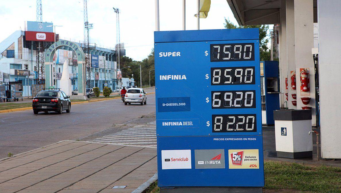 Por la suba de los biocombustibles, las petroleras actualizaron las naftas