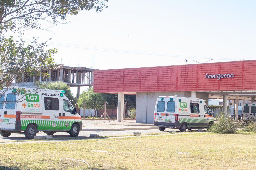 """""""En el piso hoy tenemos 27 pacientes internados y se advierte que el número de internados bajó"""""""