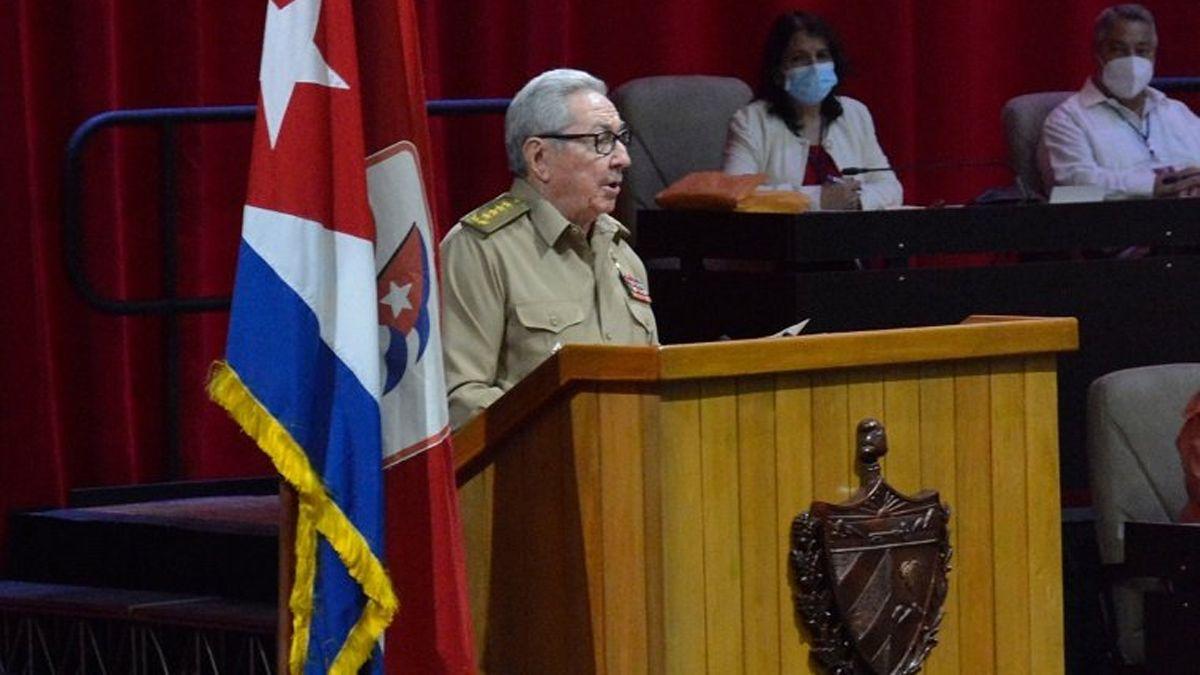 Raúl Castro se despidió como primer secretario del Partido Comunista de Cuba.