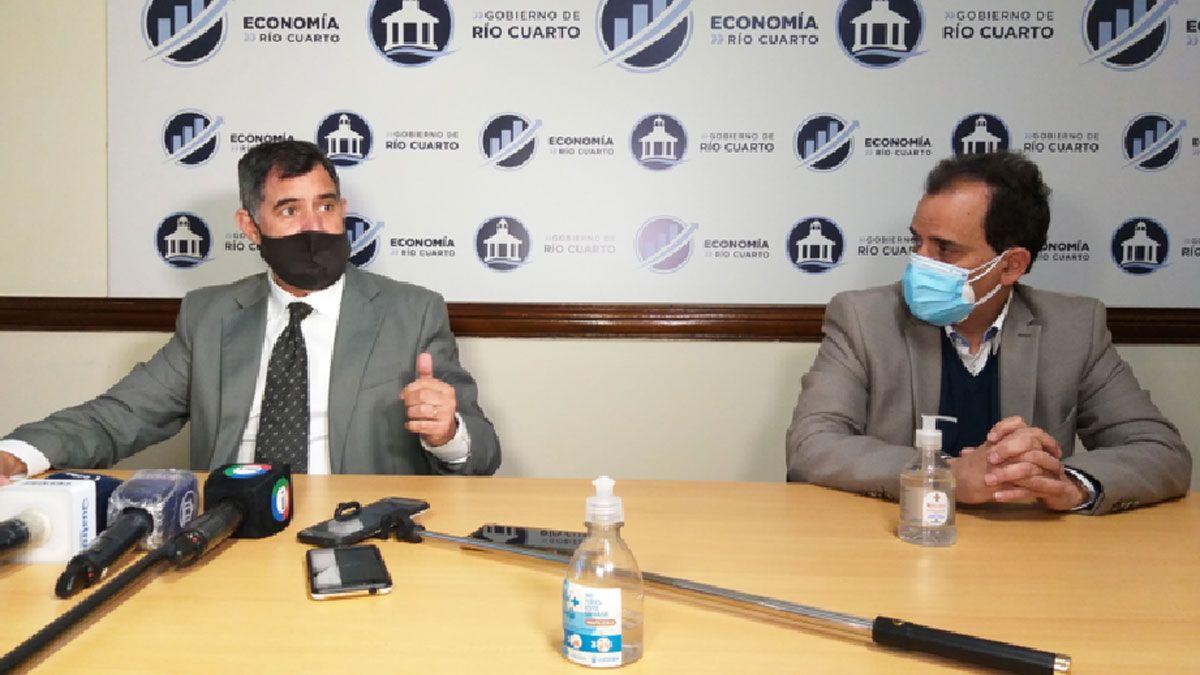 Llamosas y Antonetti informaron ayer sobre los nuevos préstamos.