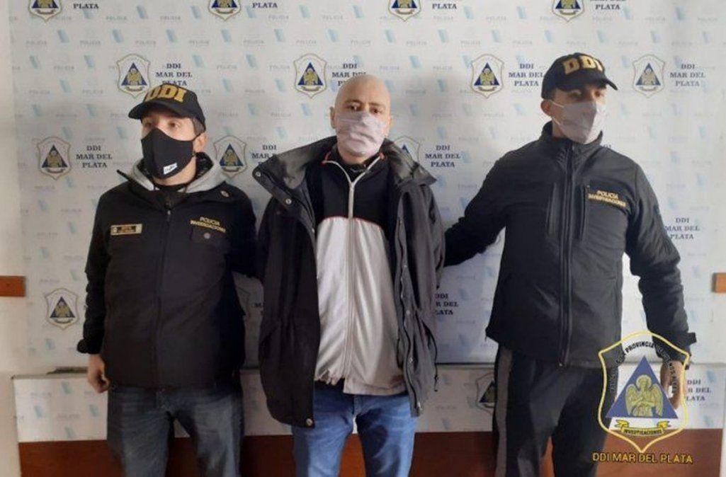 Buscado porque trató de matar a un vecino, lo detienen cuando fue a vacunarse en Mar del Plata