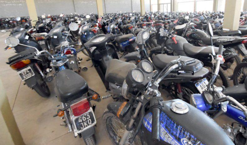 Estiman que podrán destruir al menos 400 motos y algunos autos