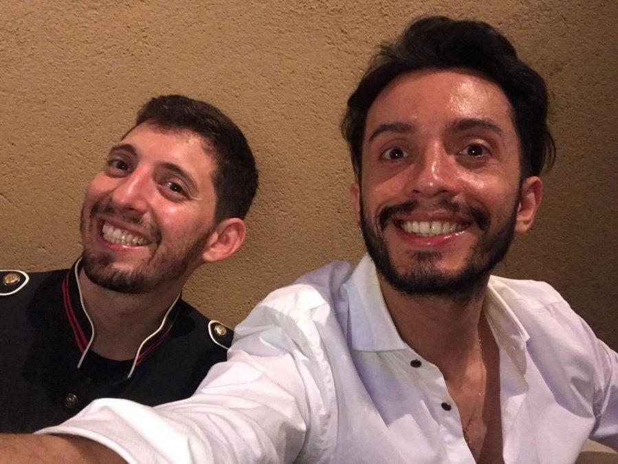 Luis y Andrés celebran este día