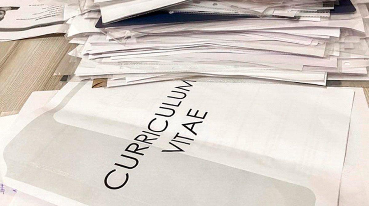 Sólo para 4 puestos 600 personas enviaron sus currículums