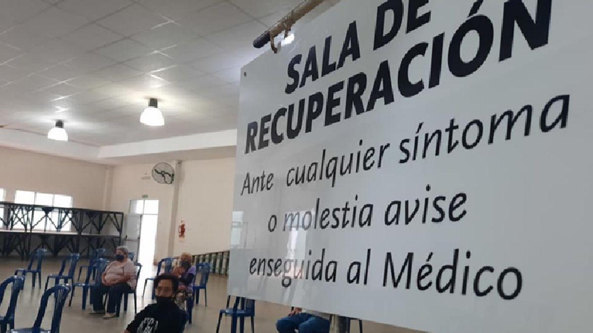 En General Cabrera se llevó a cabo ayer un nuevo operativo de vacunación. Ya son más de 1.100 las personas inoculadas.