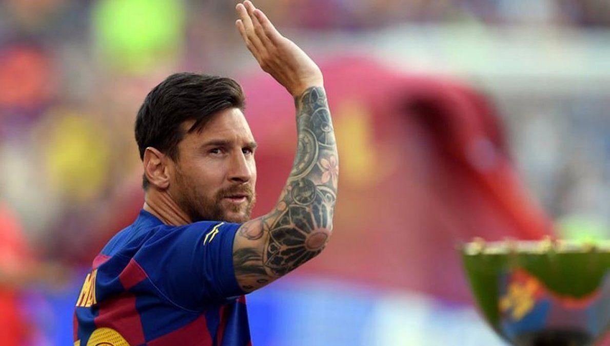 Lionel Messi donó 500 mil euros a la Fundación Garrahan