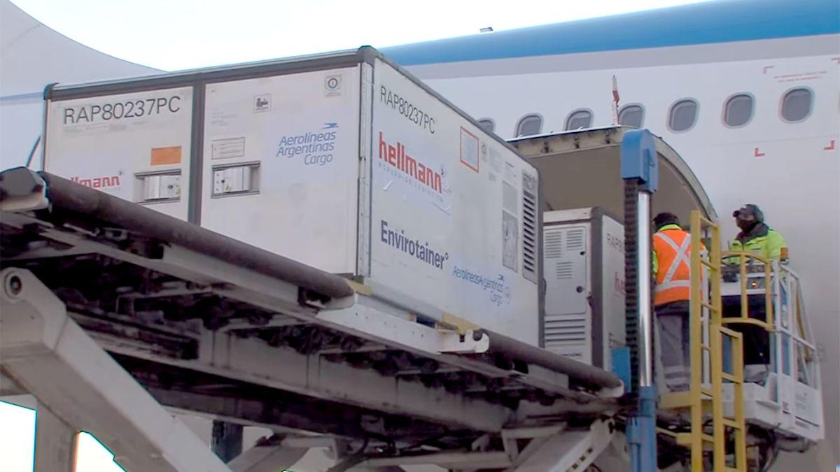 Con un nuevo cargamento de Sinopharm, Argentina superará las 40,6 millones de vacunas