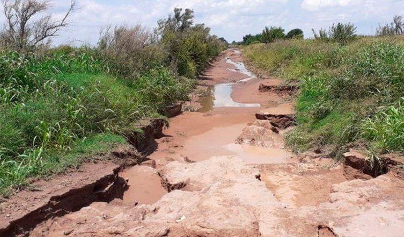 Preocupación por el estado de los caminos rurales cercanos a Cabrera
