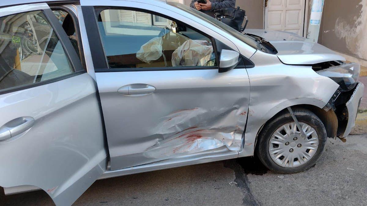Las ocupantes del Ford Ka resultaron lesionadas