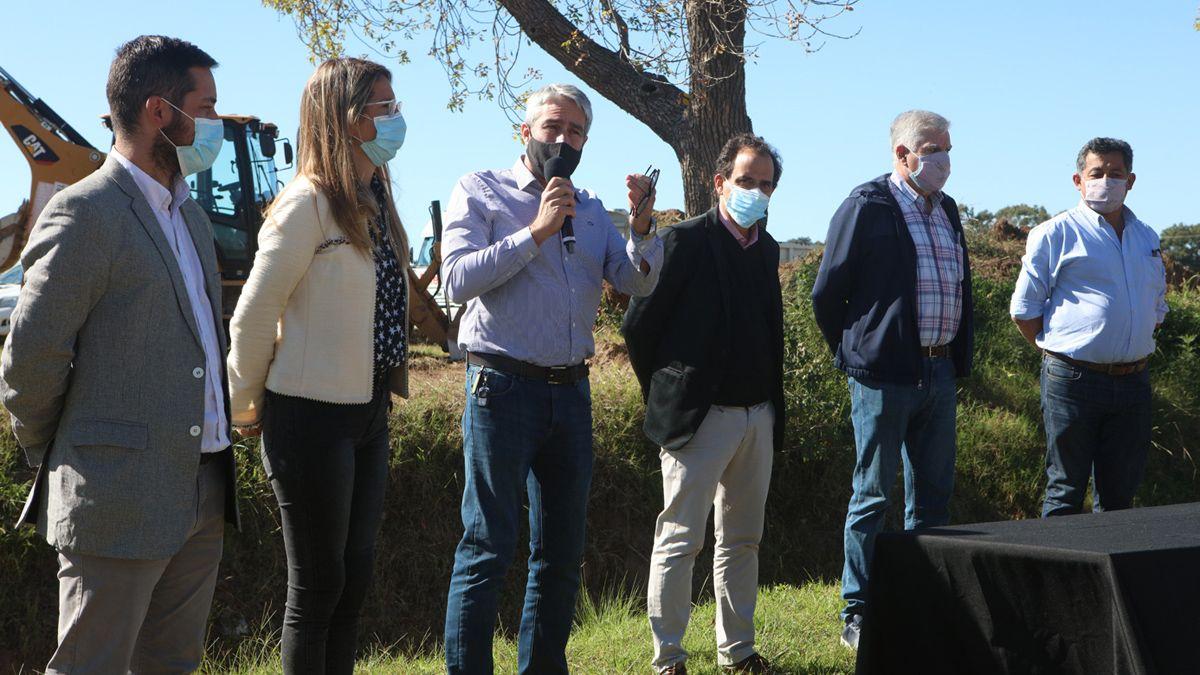 Los desagües beneficiarán a vecinos de los barrios Fénix y Ajeproc