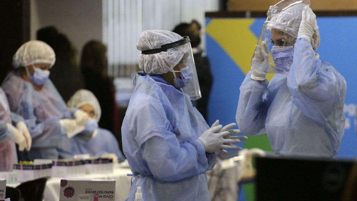 En Córdoba fueron confirmados este jueves más de 2.200 casos de coronavirus.