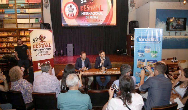 Presentaron el Festival en Rosario