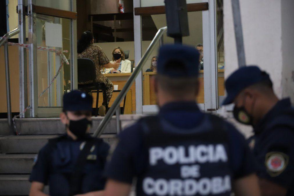 Fotos de la segunda instancia del juicio el martes