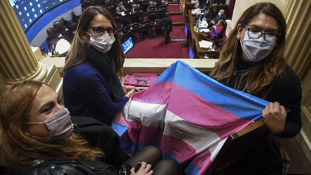 Autoridades del Ministerio de las Mujeres