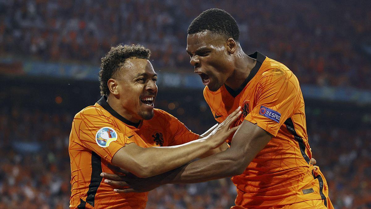 Países Bajos se metió en octavos de la Eurocopa