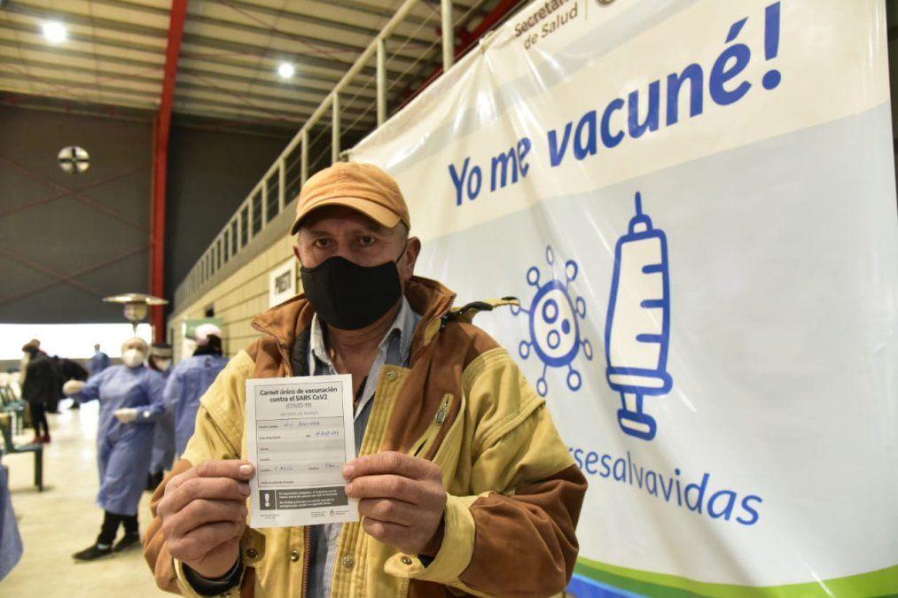 En Villa María recibieron al menos una dosis un total de 40.740 personas.