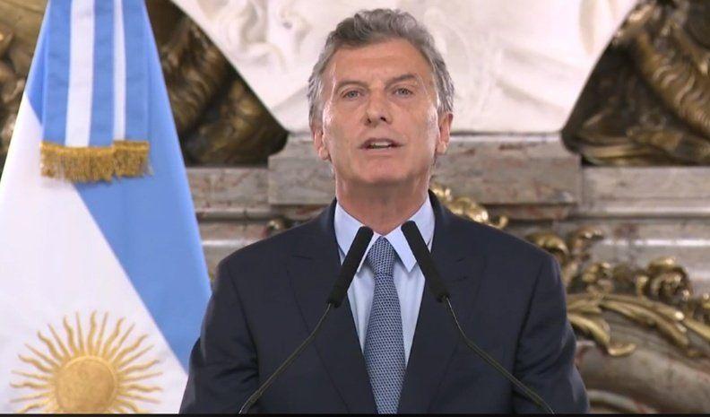 Macri anunció un DNU para avanzar con la extinción de dominio