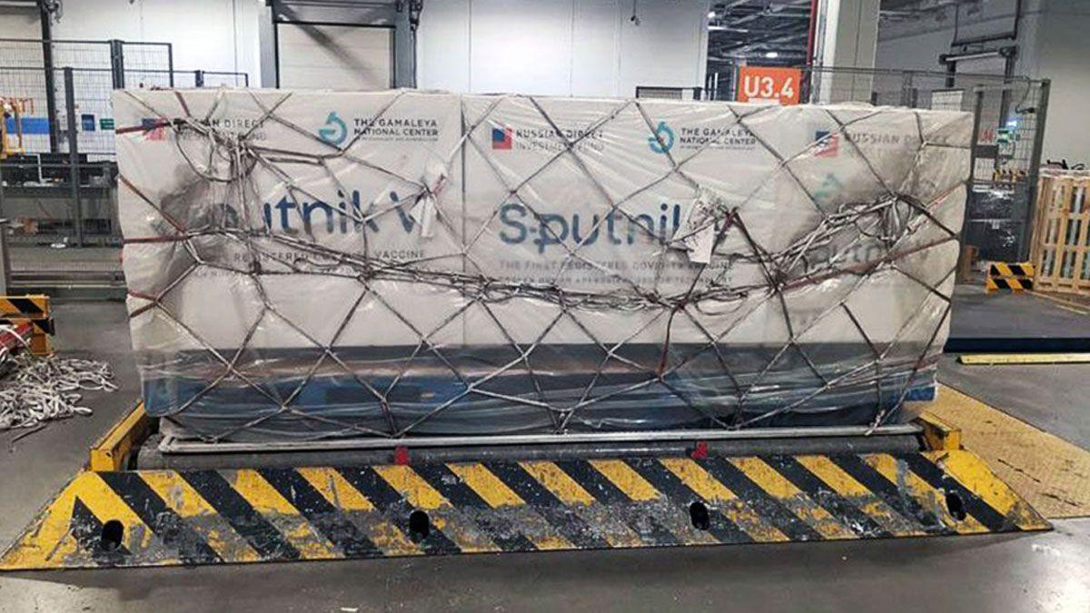 Las dosis de la vacuna Sputnik V llegaron al país el pasado jueves 24 de diciembre por la mañana.