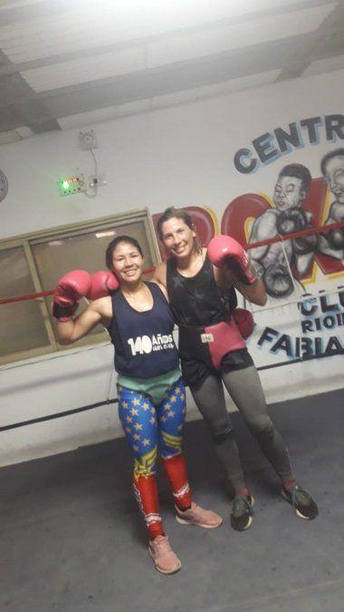 Basualdo se entrena con la chaqueña Marianela Ramírez.