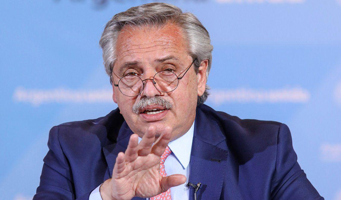 El presidente Fernández pasó la última semana con la agenda del Covid
