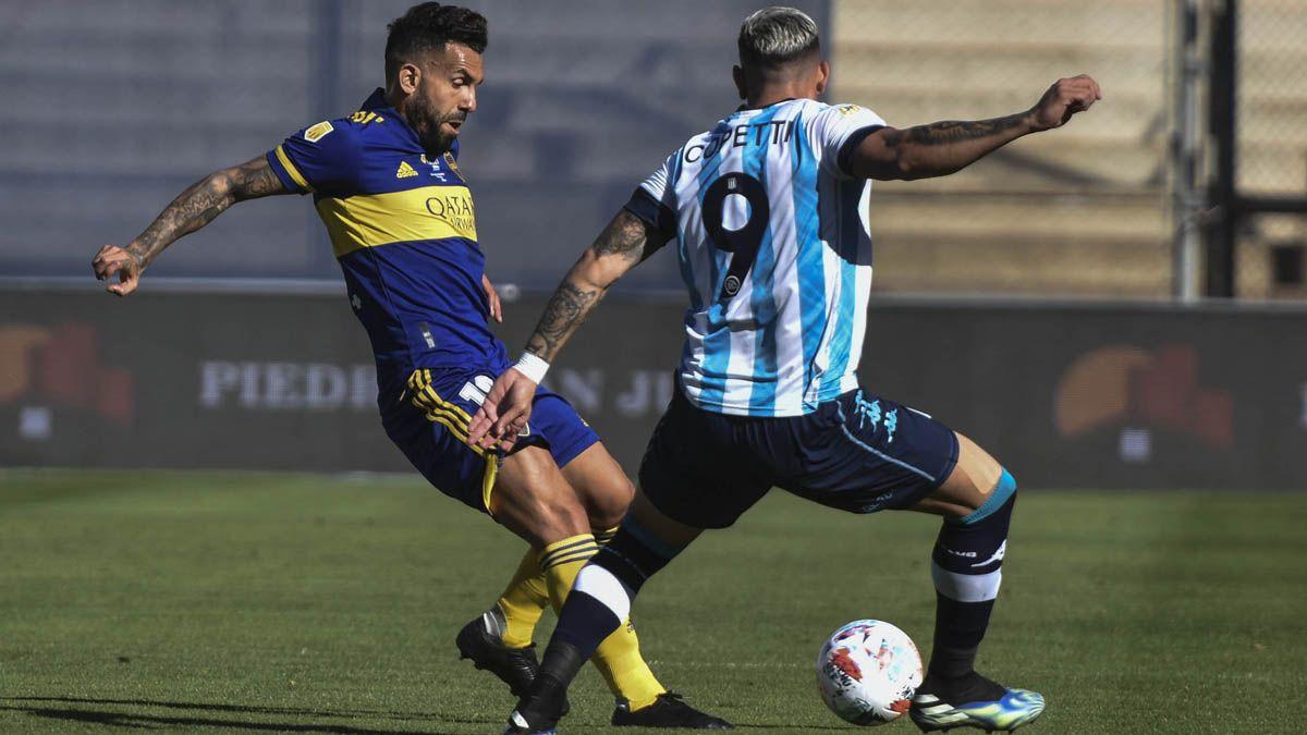 Racing eliminó a Boca en semifinales de la Copa de la Liga Profesional.