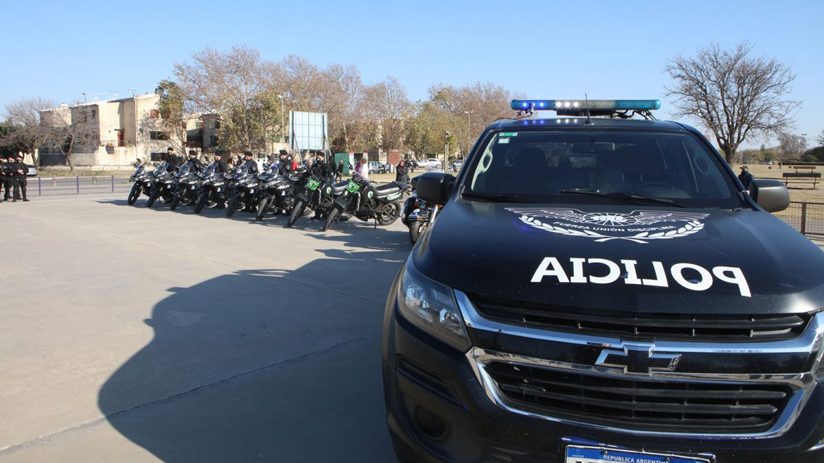 La unidad está destinada a la prevención y restablecimiento del orden.