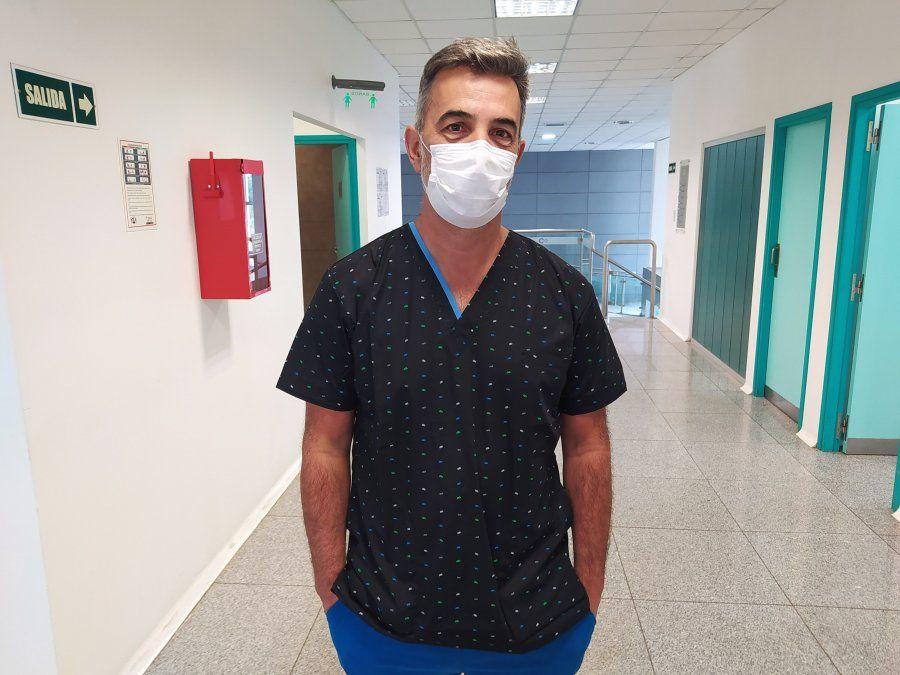 Darío Quinodoz señaló que la única forma de dejar atrás al pandemia es con una campaña de vacunación masiva.