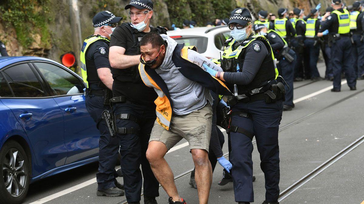 Las protestas tuvieron lugar en distintas ciudades de Australia