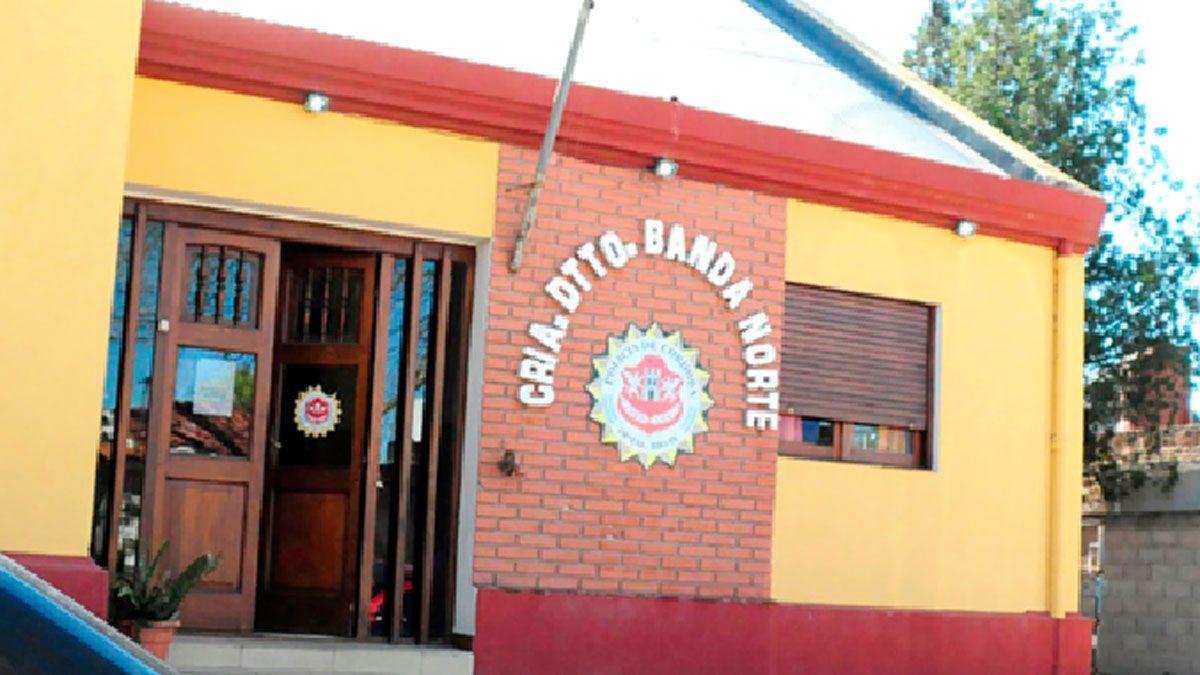 La comisaría de Banda Norte debe atender la demanda de una amplia jurisdicción.
