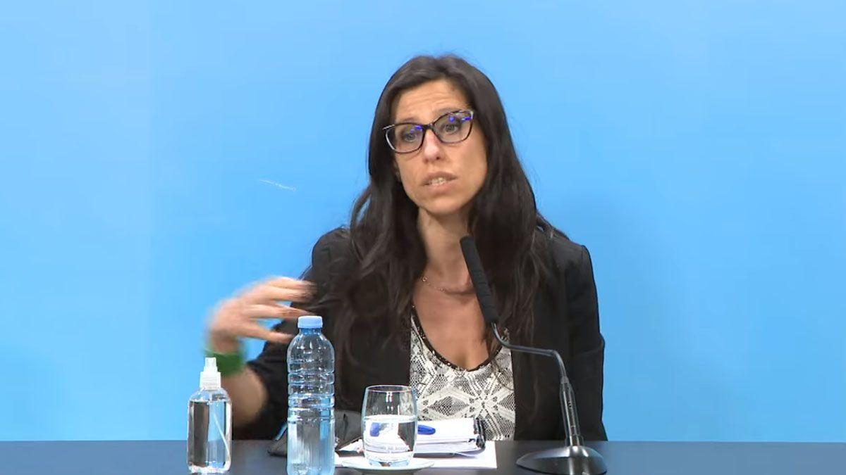 Paula Español encendió la alarma en la cadena de la carne ante la posibilidad de un nuevo cierre de exportaciones.