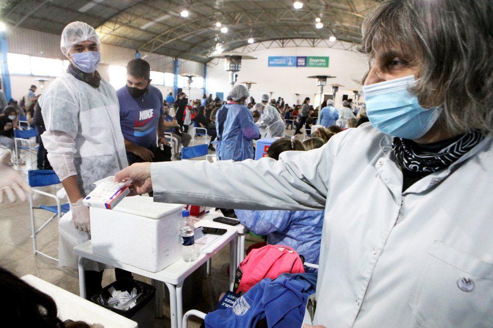 Córdoba ya registra más de 2 millones de dosis aplicadas.