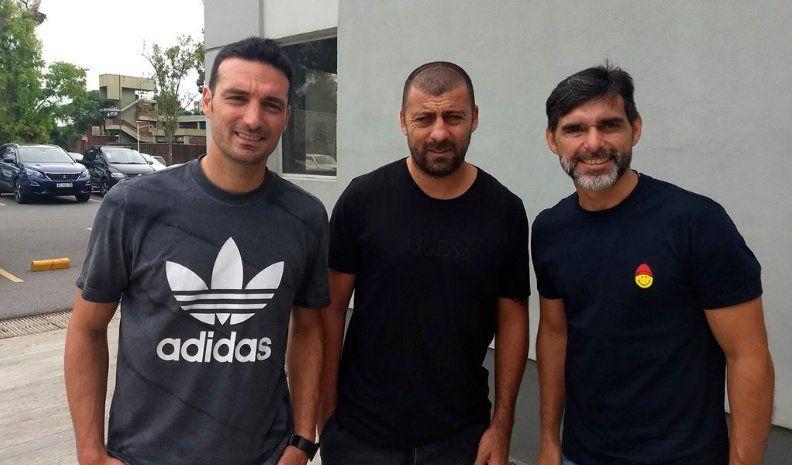 El cuerpo técnico argentino paso por Lanús y Banfield