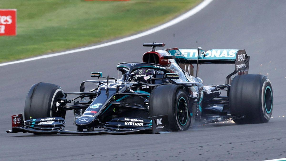 Hamilton llegó a los cien triunfos en la Fórmula 1