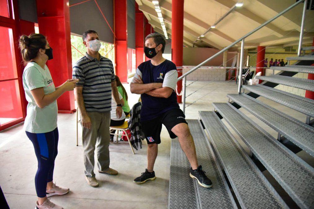 Pablo Rosso y la satisfacción por la realización de la Liga Nacional de Vóley