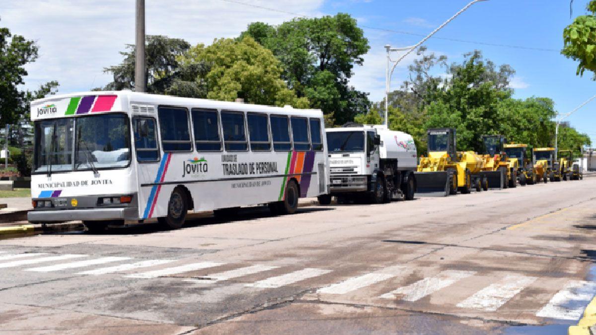 El gobierno municipal invirtió en la adquisición de nuevas unidades para renovar el parque automotor.