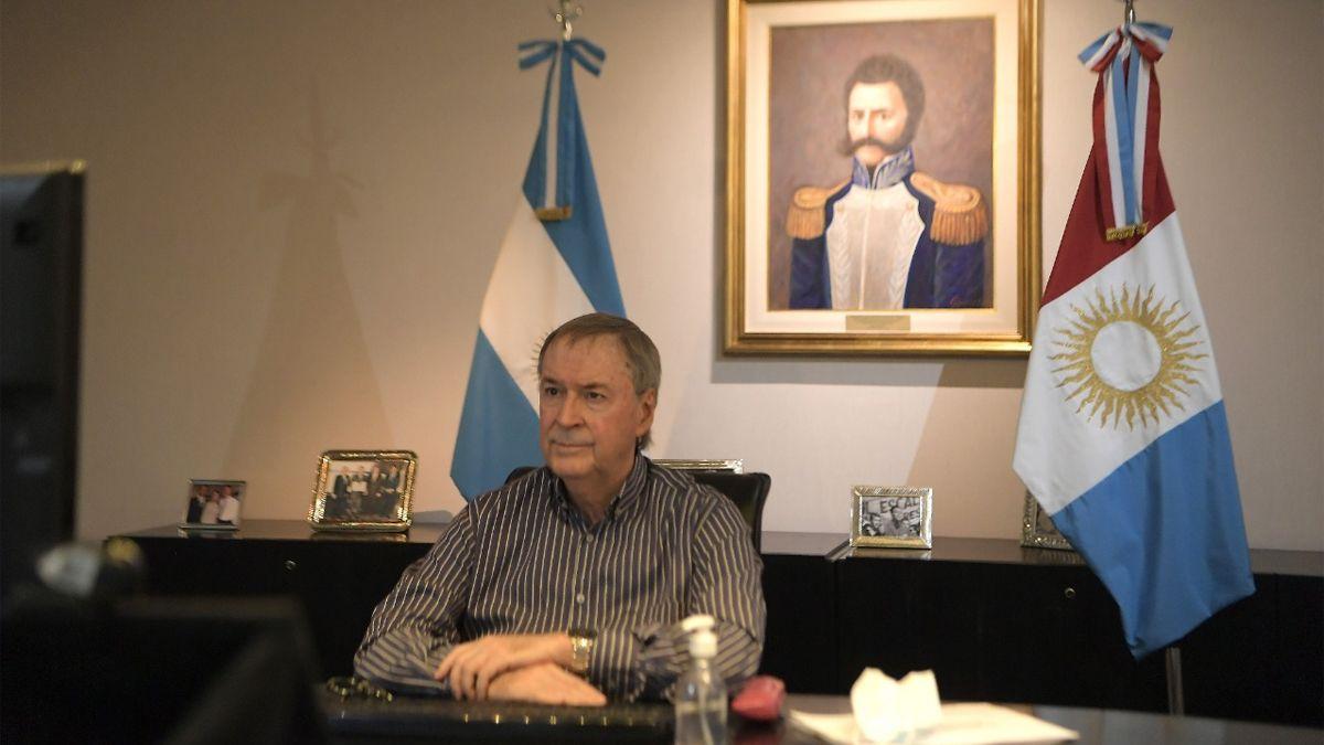 El gobernador Juan Schiaretti será operado el martes.