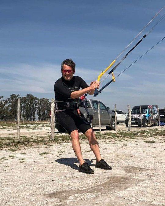 Luciano Zurro es un experimentado en los deportes extremos.