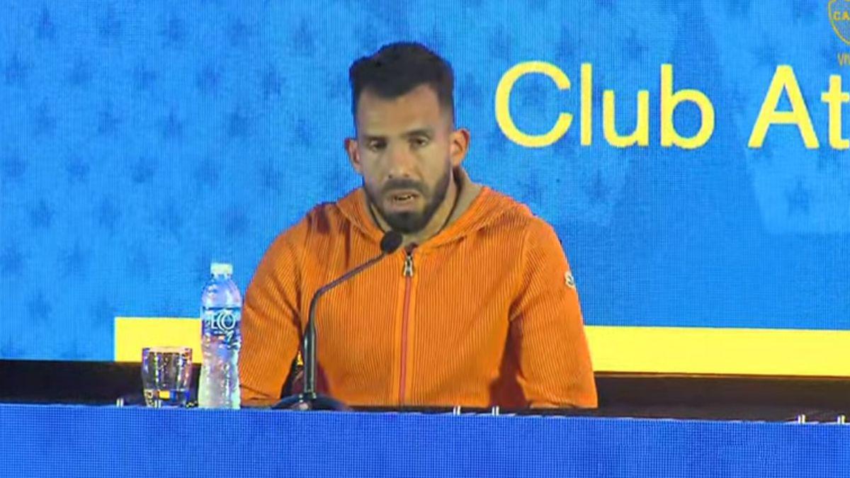 Carlos Tevez anunció su salida de Boca Juniors.