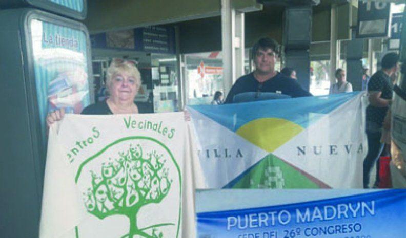 Vecinalistas viajaron a Puerto Madryn por el Congreso Nacional de noviembre próximo
