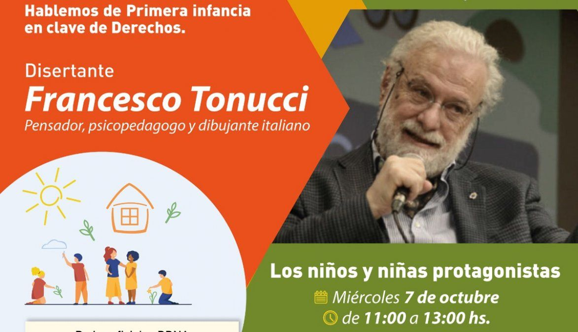 El pensador italiano Francesco Tonucci dará una conferencia en Córdoba