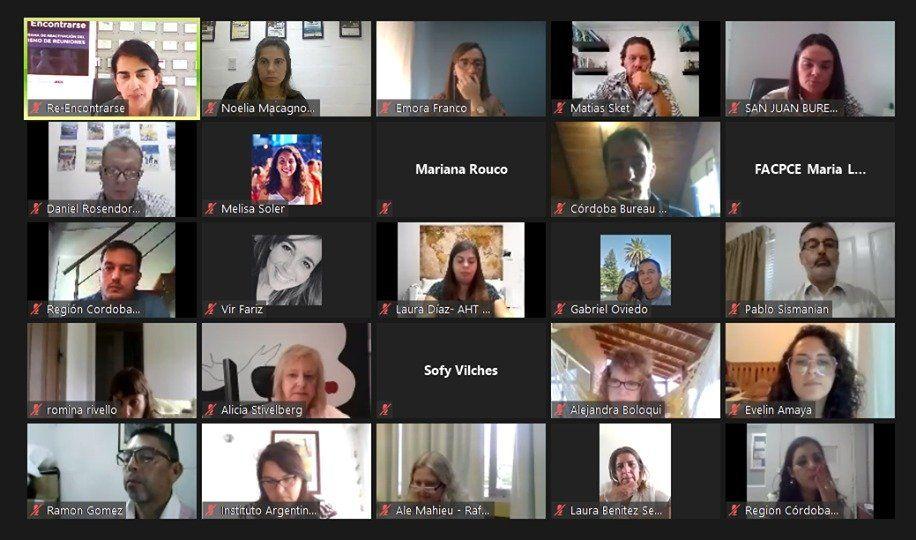 Encuentro virtual para la reactivación del turismo de reuniones